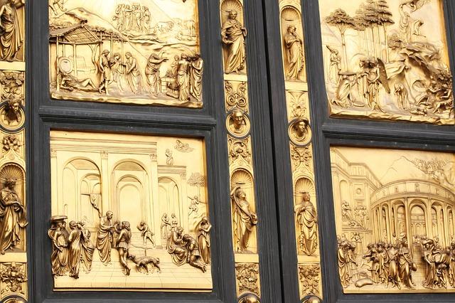 Florencia. Puerta del Paraiso.